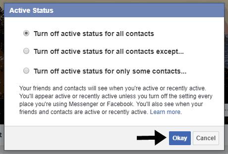 Facebook पर Online Hide कैसे करे